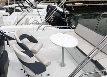 Rent a motorboat Beneteau Flyer 6.6 Spacedeck in Port Olimpic de Barcelona, Barcelona City