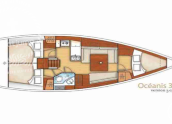 Alquilar velero Beneteau Oceanis Clipper 37.3 en Club Naútico de Sant Antoni de Pormany, Sant antoni de portmany