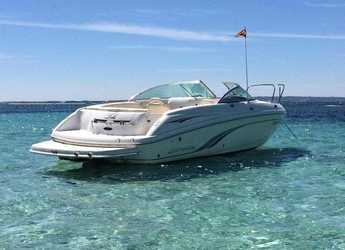 Rent a motorboat in Ibiza Magna - Chaparral 23 SSI