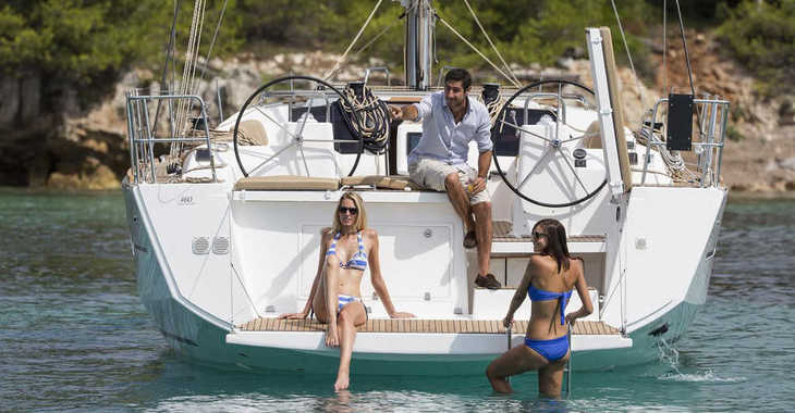 Rent a sailboat in Port Louis Marina - Dufour 460 Grand Large