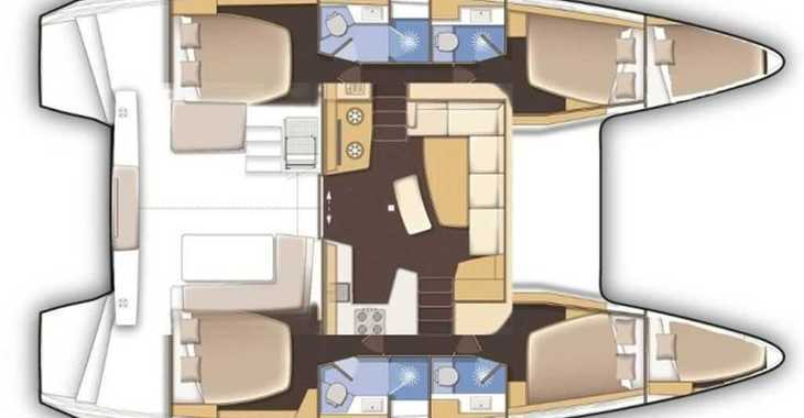 Alquilar catamarán en Jolly Harbour - Lagoon 42