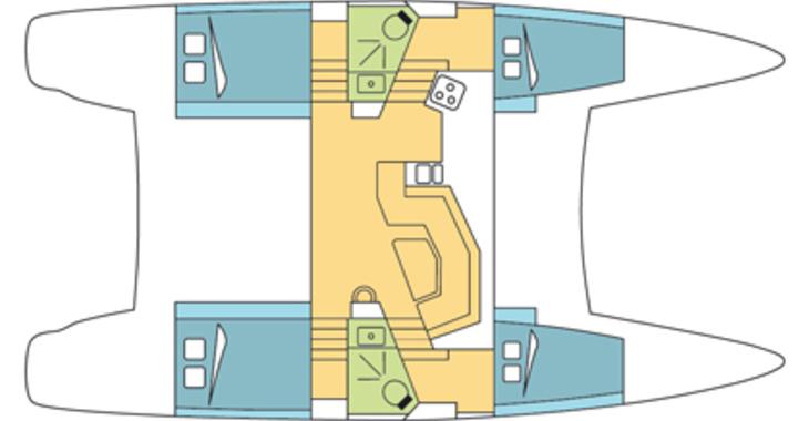 Rent a catamaran in Marina Port Royale - Catana 42 Carbon Infusion
