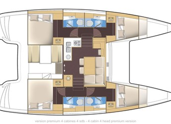 Rent a catamaran Lagoon 39 in Admiralty Bay, Bequia