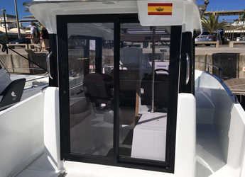 Rent a motorboat Beneteau Barracuda 7 in Port Olimpic de Barcelona, Barcelona City