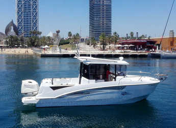 Rent a motorboat in Port Olimpic de Barcelona - Beneteau Barracuda 7