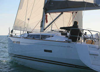 Rent a sailboat Sun Odyssey 439 (4Cab) in Salerno, Italy