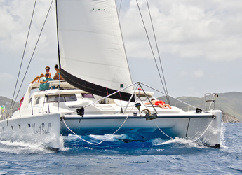 Rent a catamaran in Sopers Hole Marina - Voyage 500
