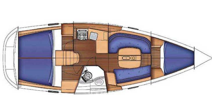 Alquilar velero Oceanis 343 (3Cab) en Lefkas Nidri, Lefkas / Nidri