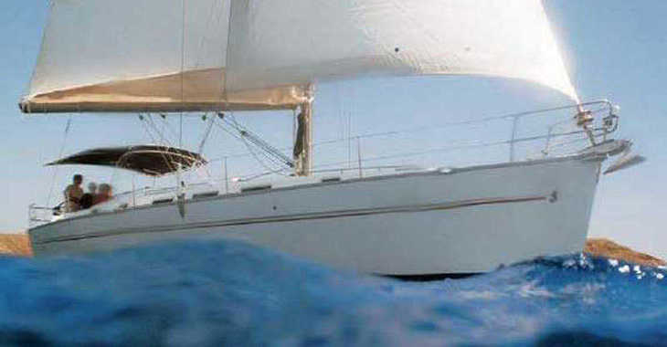 Rent a sailboat in Alimos Marina Kalamaki - Beneteau Cyclades 39.3 (3Cab)