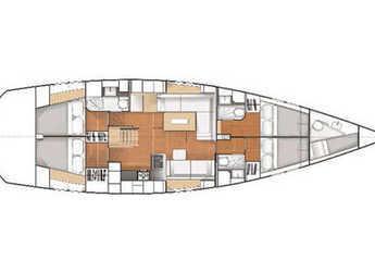 Alquilar velero Hanse 545e (4Cab) en Procida, Italia