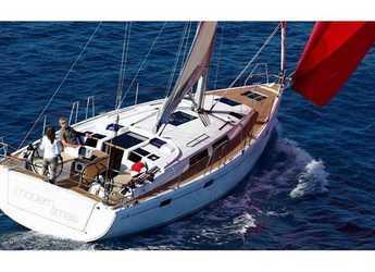 Rent a sailboat in Marina Frapa - Hanse 415 (3Cab)