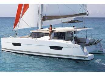 Chartern Sie katamaran in Marina Frapa - Lucia 40 (4Cab)