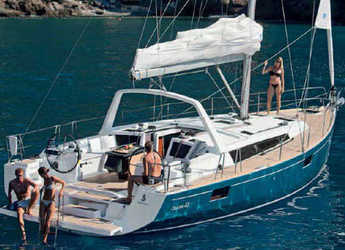 Chartern Sie segelboot Oceanis 48 (5Cab) in Follonica / Etrusca Marina, Italien