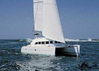 Rent a catamaran Lagoon 380 (4Cab) in Marsala, Italy (Sicily)