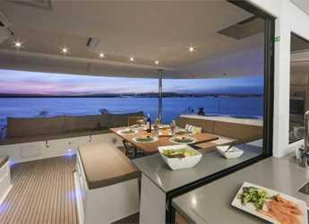 Chartern Sie katamaran in Marina di Cannigione - Saba 50 (4+2Cab)