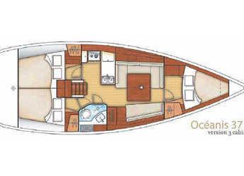 Rent a sailboat Oceanis 37 (3Cab) in Sicily / Portorosa, Italy (Sicily)
