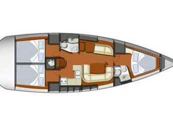 Rent a sailboat Sun Odyssey 42i (3Cab) in Punta Ala, Italy