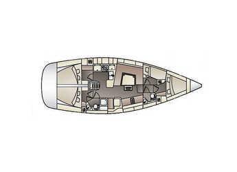 Alquilar velero Elan Impression 444 (4Cab) en Marina Izola, Izola