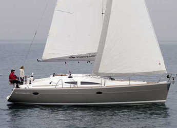 Chartern Sie segelboot in Marina Izola - Elan Impression 384 (3Cab)