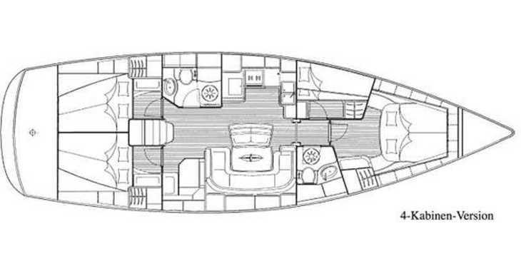 Alquilar velero Bavaria 46 Cruiser (4Cab) en Fethiye, Turquia