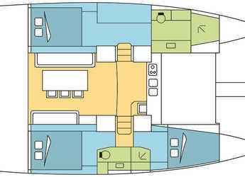 Rent a catamaran Bali 4.0 in Maya Cove, Hodges Creek Marina, Tortola East End