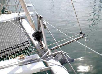 Chartern Sie katamaran Lagoon 380 (3Cab) in Fethiye, Türkei