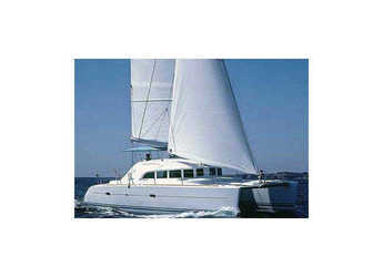 Rent a catamaran in Ece Marina - Lagoon 380 (3Cab)