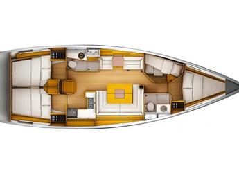 Chartern Sie segelboot Sun Odyssey 409 (3Cab) in Fethiye, Türkei