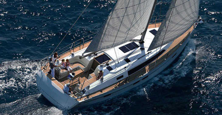 Rent a sailboat in Skiathos  - Bavaria Cruiser 46 (4Cab)