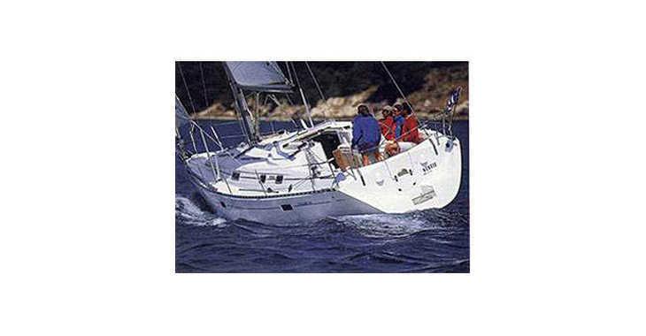 Rent a sailboat Oceanis 381 (3Cab) in Skiathos , Skiathos