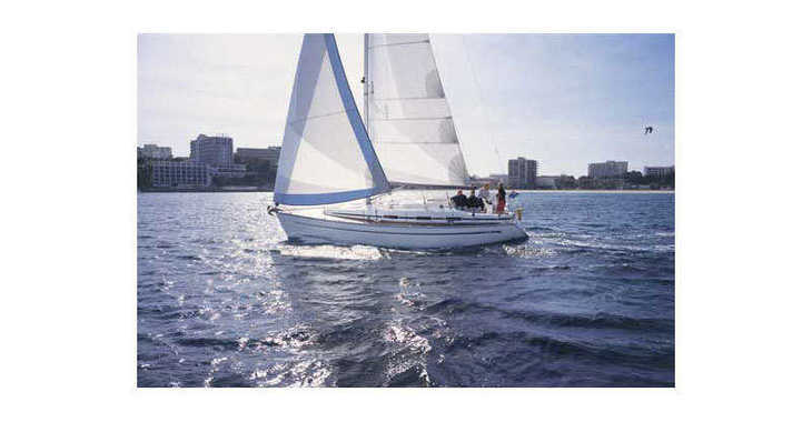 Rent a sailboat in Skiathos  - Bavaria 36 Cruiser (3Cab)