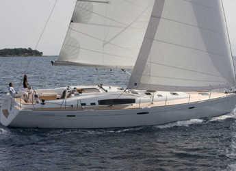 Rent a sailboat in Lefkas Nidri - Oceanis 54 (4Cab)