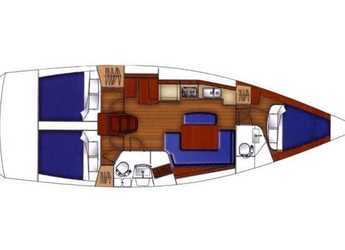 Rent a sailboat in Volos - Oceanis 40 (3Cab)