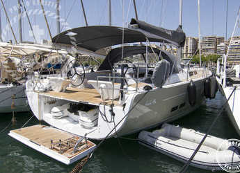 Rent a sailboat in Contra Muelle Mollet - Hanse 575 (4Cab)