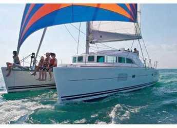 Rent a catamaran in Marina Gouvia - Lagoon 380 S2 (4Cab)