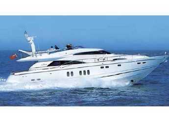 Rent a yacht Fairline Squadron 74 in Marina Port de Mallorca, Palma de mallorca