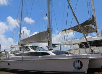 Rent a catamaran in Maya Cove, Hodges Creek Marina - Gemini Legacy 35