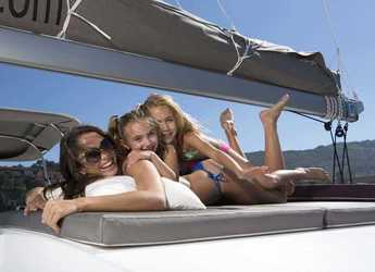 Rent a catamaran Bali 4.5 in Yacht Haven Marina, Phuket