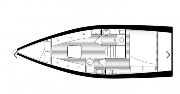 Rent a sailboat Tucana Sail 28 in Club Nautico de Altea , Altea