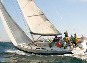 Rent a sailboat in Club Nautico de Altea  - Hanse 411