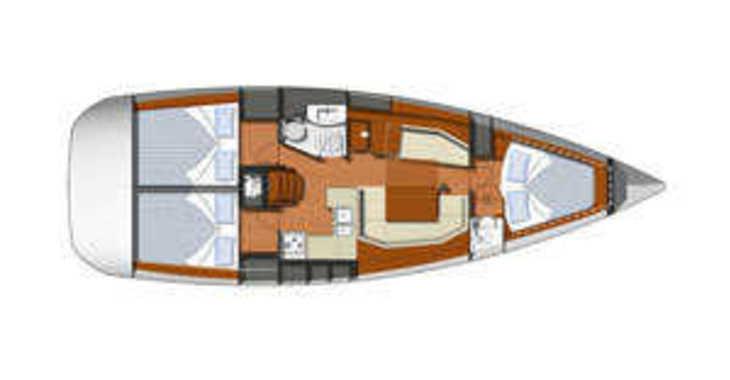 Rent a sailboat Sun Odyssey 39i in Pula (ACI Marina), Pula