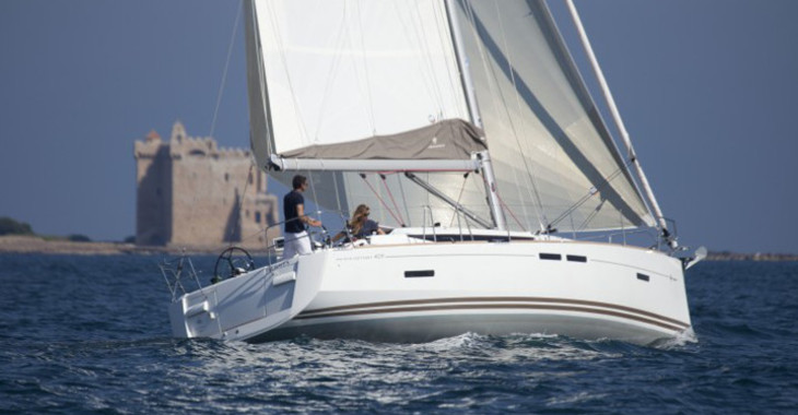 Rent a sailboat in Marina Le Marin - Sun Odyssey 409