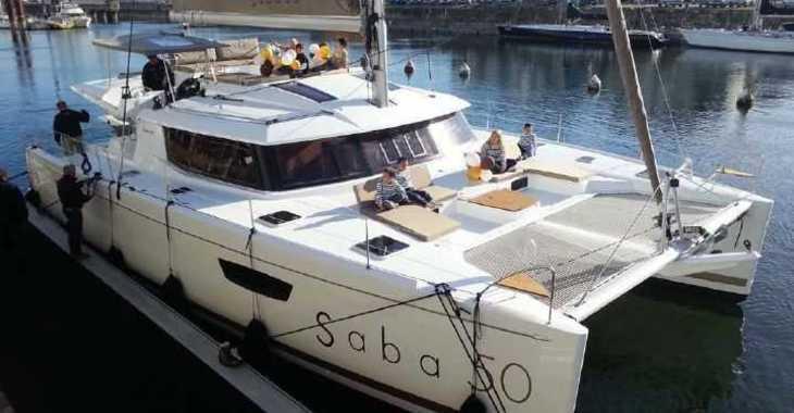 Rent a catamaran in Marina Le Marin - Saba 50