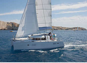 Chartern Sie katamaran in Marina Le Marin - Lagoon 400 S2