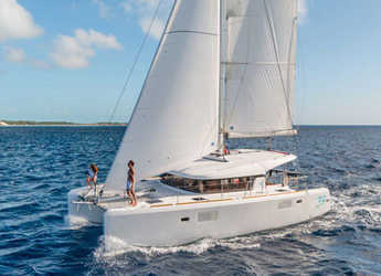 Chartern Sie katamaran in Marina Le Marin - Lagoon 39
