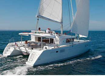 Chartern Sie katamaran in Marina Le Marin - Lagoon 450