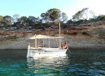 Rent a motorboat in Club Naútico de Sant Antoni de Pormany - JP Calafat Llaut