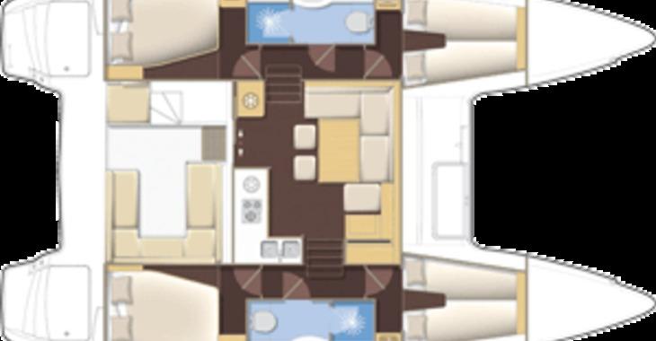 Alquilar catamarán Lagoon 400 S2 en Maya Cove, Hodges Creek Marina, Tortola