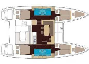 Chartern Sie katamaran Lagoon 400 S2 in Marina di Nettuno, Rome