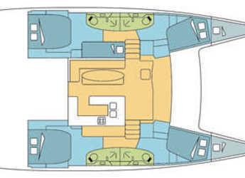 Chartern Sie katamaran in Yacht Haven Marina - Salina 48